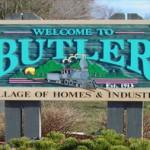 Village of Butler Sign