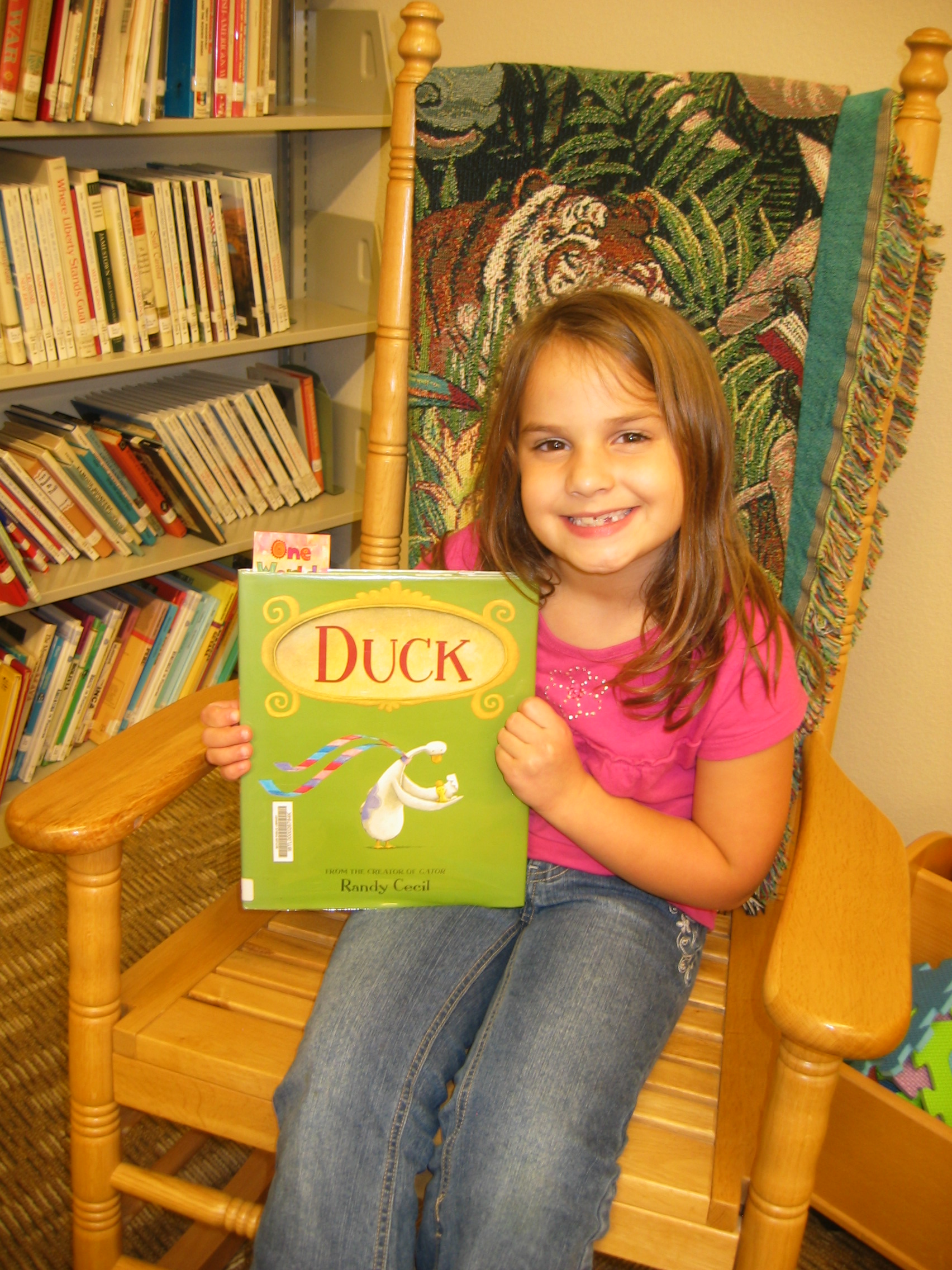 Reading is fun at the library!