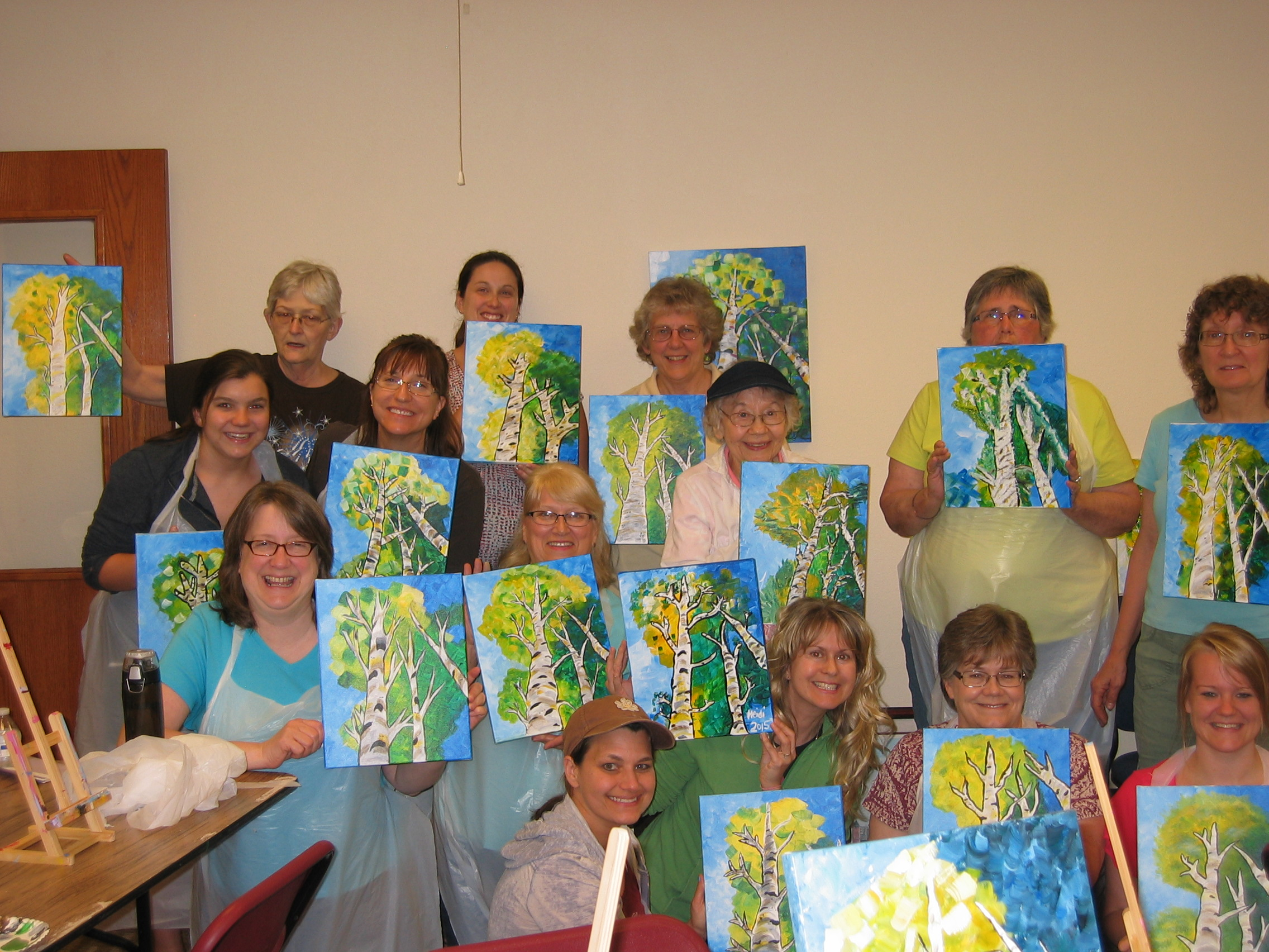 Group Painting Program