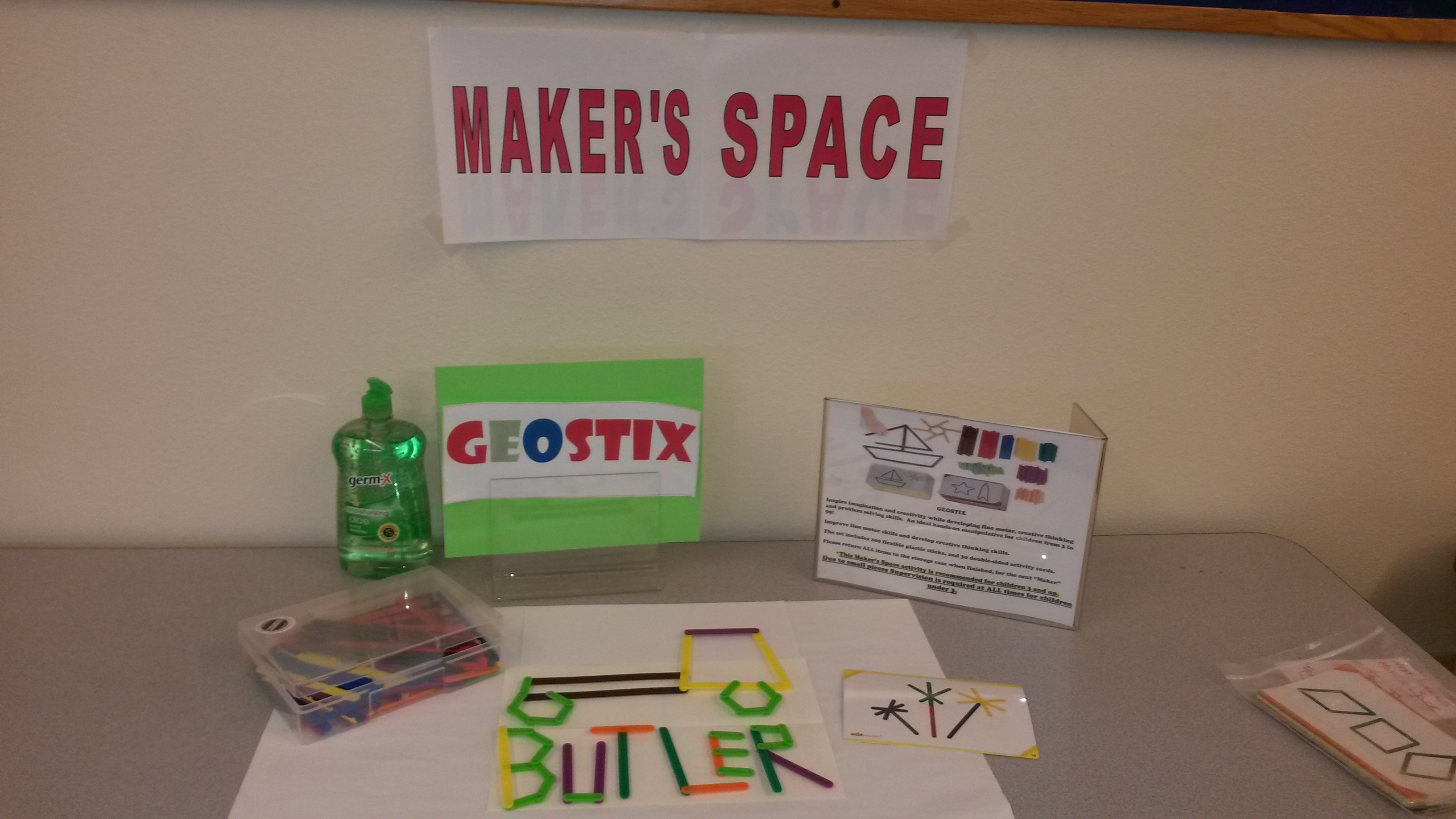 Come join Maker Space