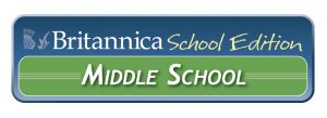 Logo for Britannica Online – Middle School