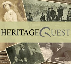 Logo for Heritage Quest