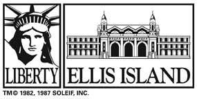 Logo for Ellis Island